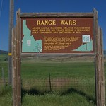 Idaho Range Wars Historical Sign