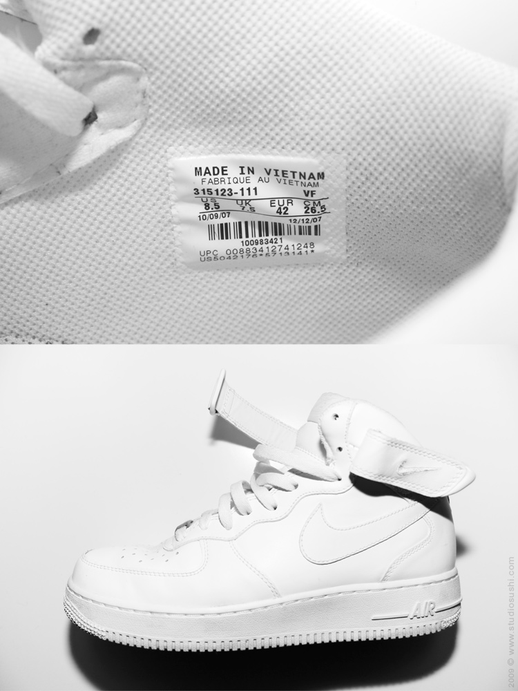nike air made in vietnam