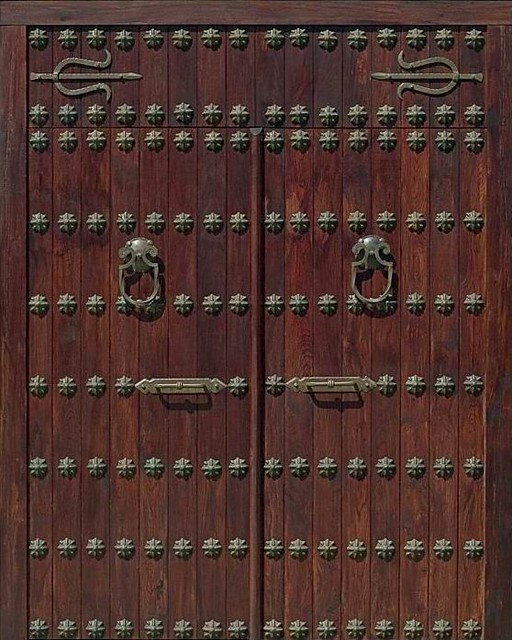 Porton alhambra flickr photo sharing - Puertas rusticas de madera ...