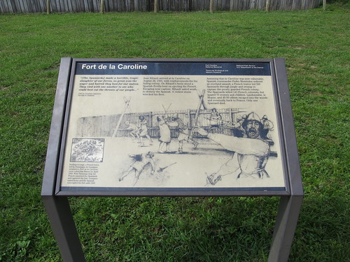 Fort de la Caroline, Timucuan Ecological and Historic Preserve and Fort Caroline National Memorial, Jacksonville, Florida