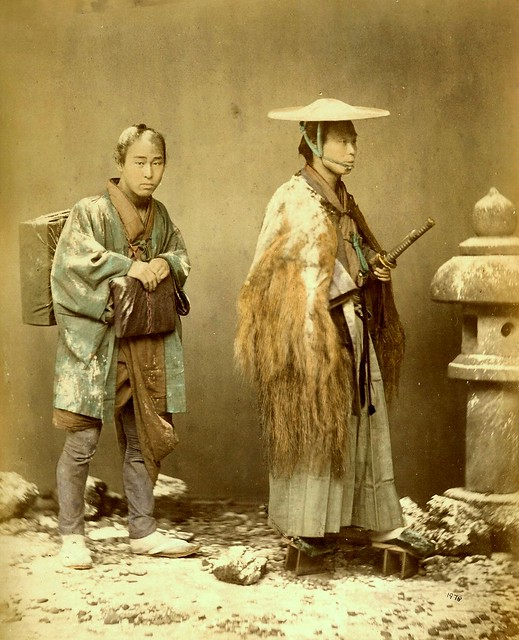 MEIJI-ERA SPECIAL EFFECTS - Snow in the Photo Studios of Old Japan