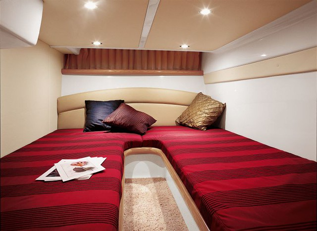 Atlantis 345 sc twin bed aft cabin | Flickr - Photo Sharing!