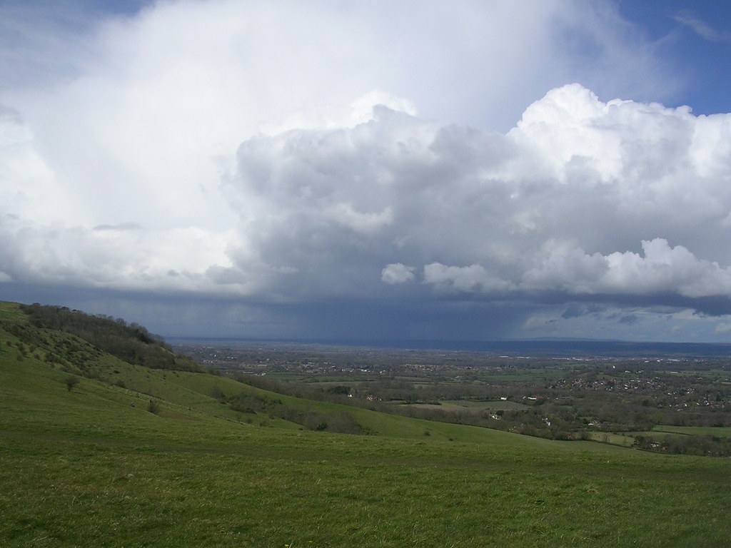 Storm over the lowlands Hassocks to Lewes