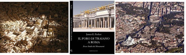 Roma – I Fori Imperiali (1995-2008). The Forum of Trajan. Excavations & Related studies (1998-2008). Prof. James. E. Packer, (ed. it.), Il Foro di Traiano a Roma. Breve studio dei monumenti (Roma 2001).