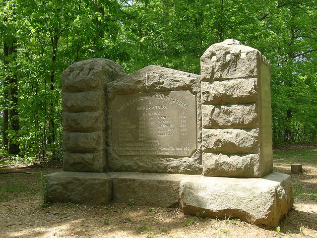 North Carolina Monument, Appomattox