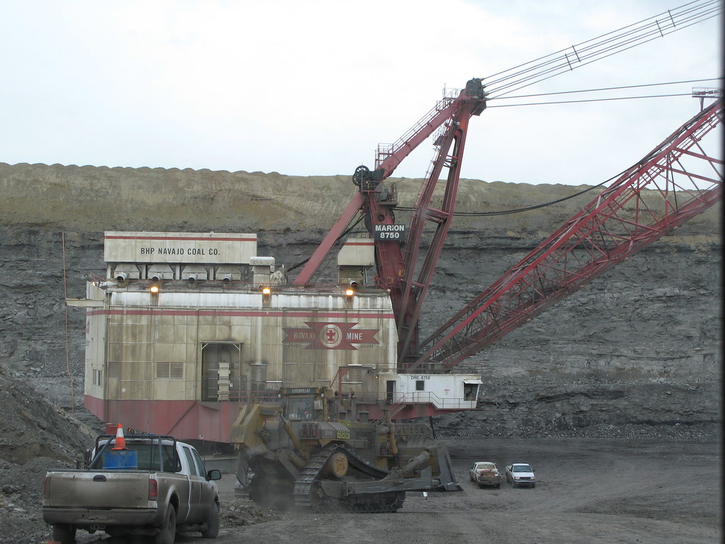 navajo mine marion 8750 dragline a photo on flickriver
