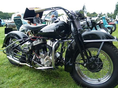 Harley Davidson 750cc Motorcycles - 1951