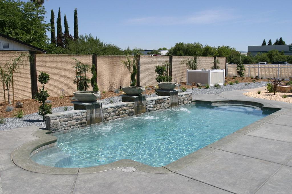 Acapulco 5a ~ Viking Pools ~ Classic Design ~ Viking Pools of Sacramento ~  Sacramento,. Backyard ... - Backyard Pools Sacramento Outdoor Goods