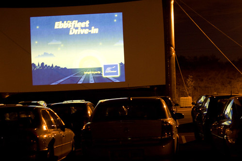 EbbsFleet Drive-In Movie