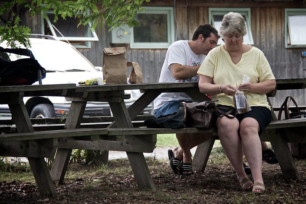 Mom with Zucchini Bread