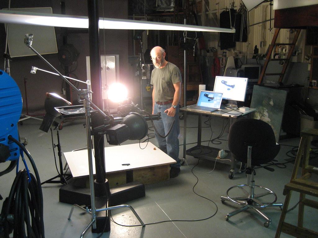 In the studio (245/365)