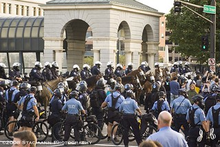 Really, this isn't a police state