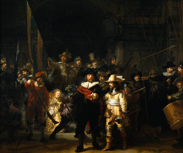 *Rembrandt, The Night Watch, 1642   Flickr - Photo Sharing!