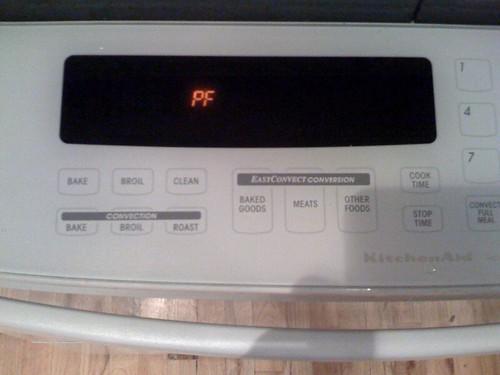 Kitchen Aide Superba Oven Door Problem