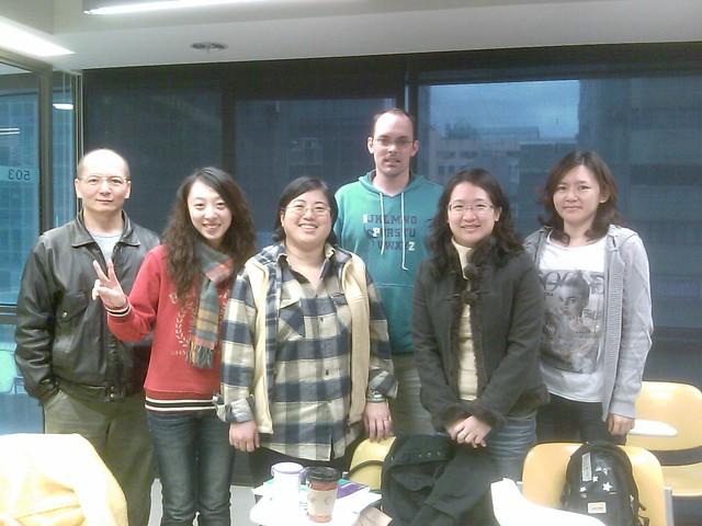 Classmates in my teacher traing class
