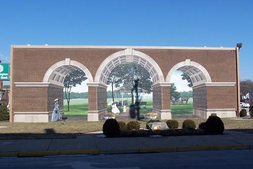 Brick Arches Mural - Franklin, Ohio