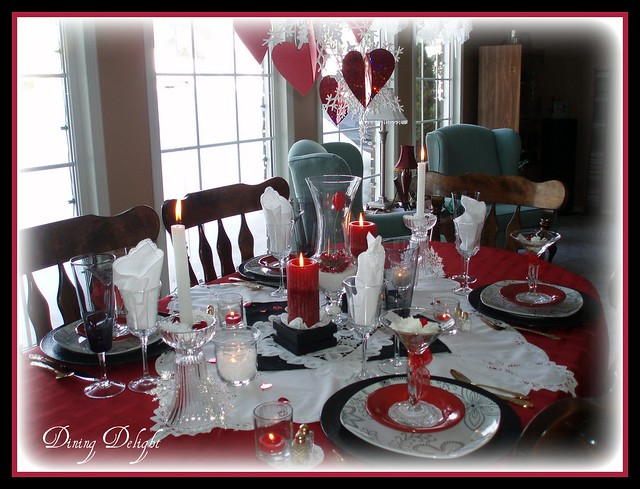 valentine 39 s day tablescape flickr photo sharing