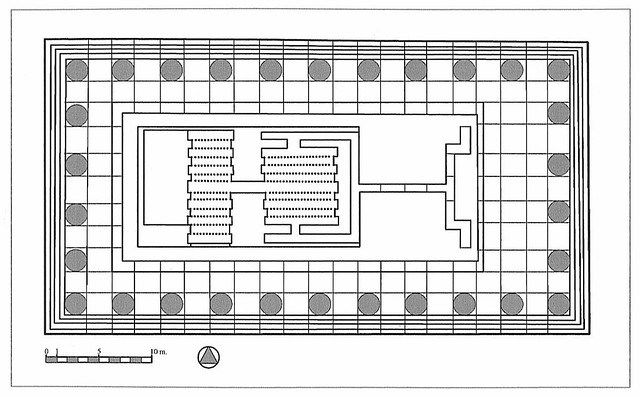 Plan of the Temple of Apollo at Klaros