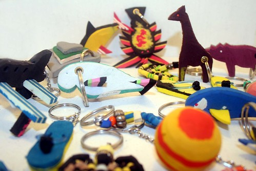 Keyrings Assorted