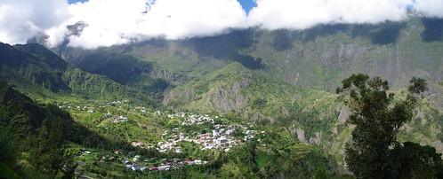 Cirque of Cilaos, Réunion Island.
