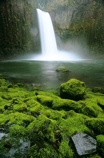 Abiqua Falls, another pretty, Nikon FM2n
