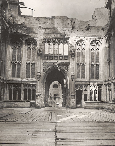 Bombed House of Commons 1941