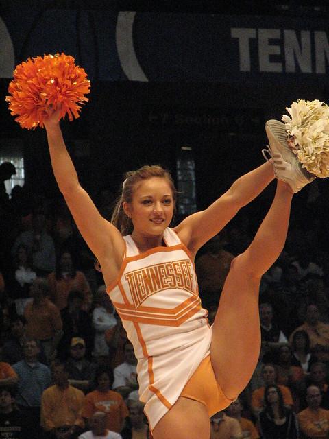 sexy tennessee cheerleader nude