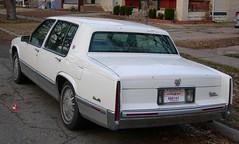 1991 Cadillac DeVille (White w/grey interior)   Flickr ...