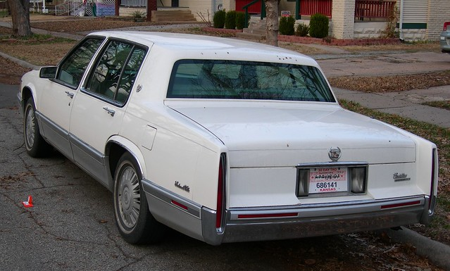 1991 cadillac deville white w grey interior flickr. Cars Review. Best American Auto & Cars Review