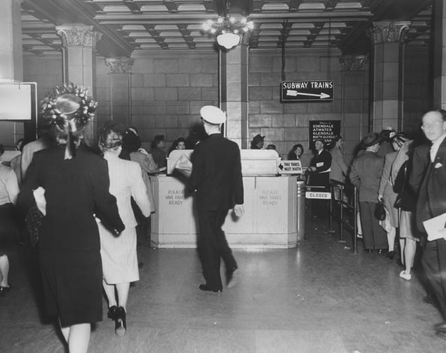 Hollywood Subway Terminal 1946