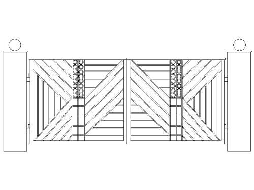 Amazing Metal Gate for Driveways Designs in Drawings 500 x 375 · 36 kB · jpeg