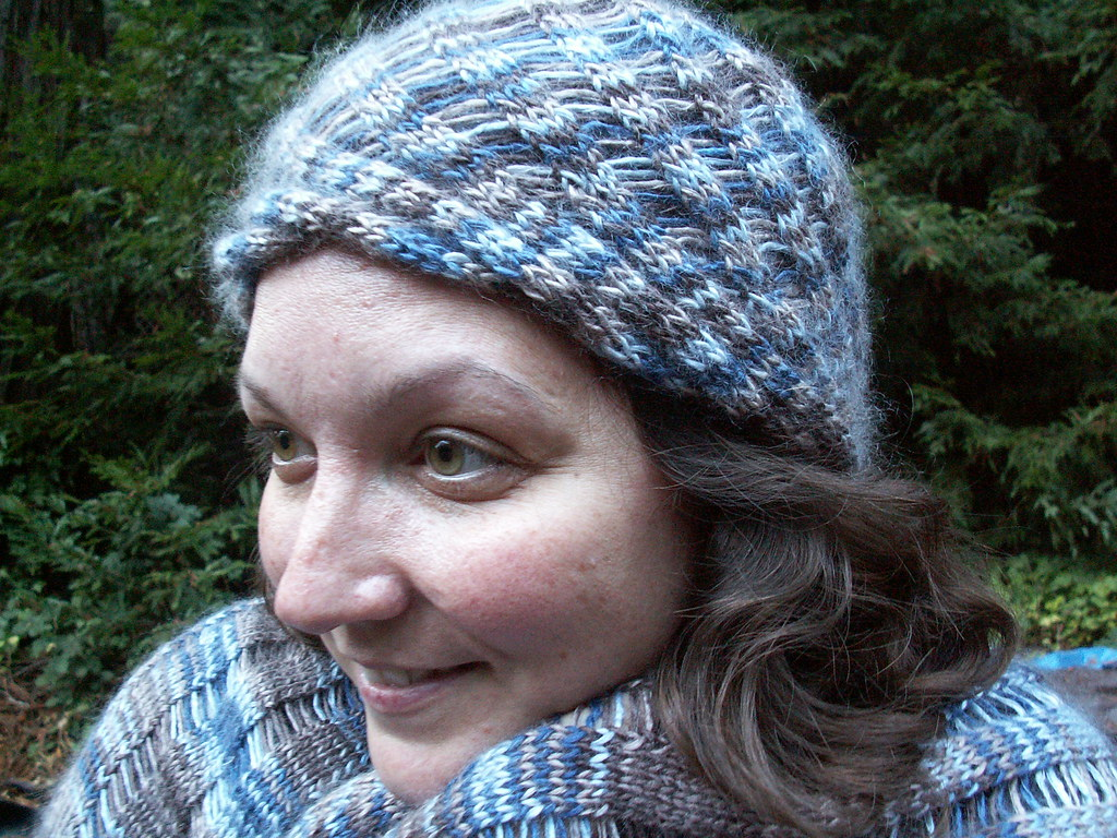 Clapotis Hat And Shawl Clapotis Pattern Clapotis Hat Patte Flickr