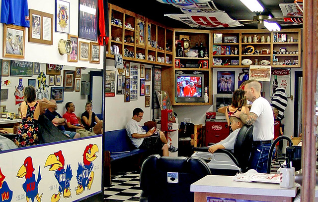 Barber Shop Lawrence Ks : Lawrence KS - A Barber Shop in a University Town (2 of 3) Flickr ...