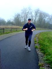 skai running to burn off thanksgiving dinner, 2008  …