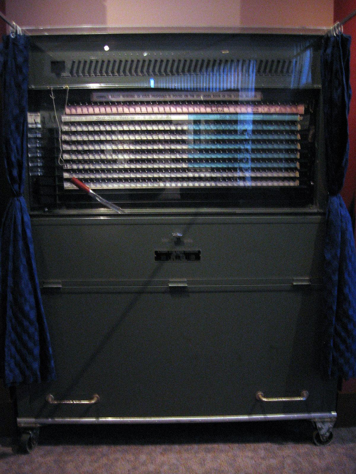 lever voting machine