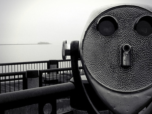 blackandwhite dock foggy charleston viewfinder pfogold