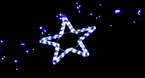 christmas blue ireland urban black night lights bokeh noflash handheld mayo notripod 3kingsday castlebar littlechristmas artyeva