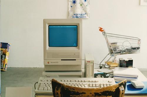 Macintosh SE/30 // atelier-1992-se30 // 3231767634_9013c3f9c7.jpg