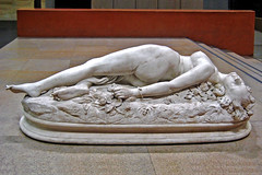 Sculpture - Femme Piquée par un Serpent (Woman Bitten by a Snake)