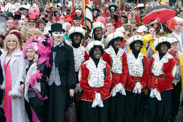 Morettos of Rijeka  in Carnival Parade - Kvarner, Croatia