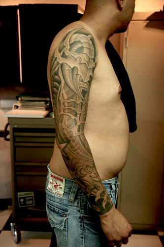 Tattoo trend 2013 marine corps sleeve tattoos for Usmc sleeve tattoo ideas