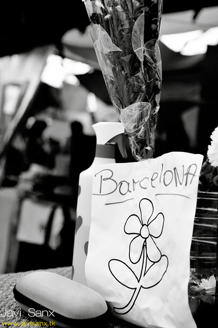 Flowers to Barcelona - Spanish revolution - Madrid