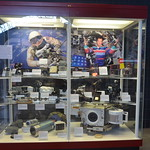 Steven F. Udvar-Hazy Center: Space exhibit, collection of astronaut camera gear