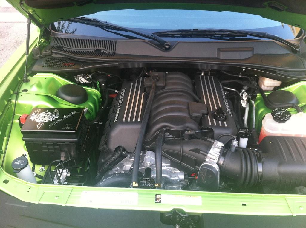 modded engine bay pics