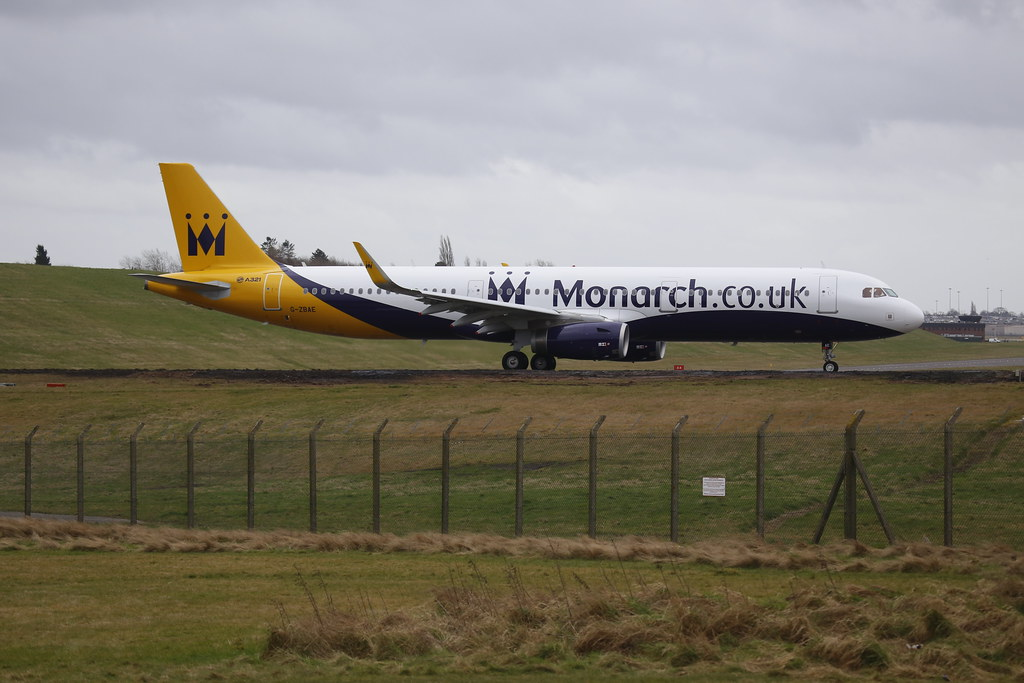 G-ZBAE - Monarch Airlines - AIrbus A321 (winglets)