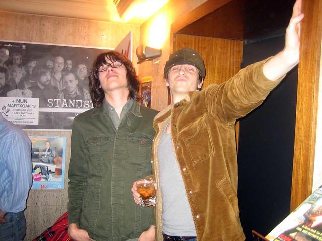 Deadstring Brothers + Marah, en el Kafe Antzokia de Bilbao el 29-2-8
