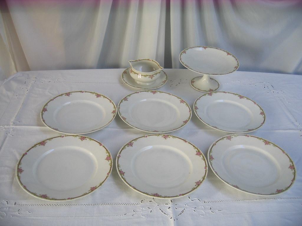 Antigua sopera guisera presentoire porcelana inglesa i - Porcelana inglesa antigua ...