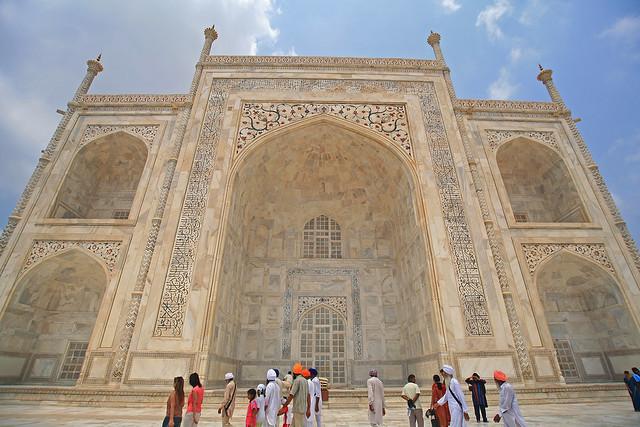 Taj Mahal, ciudad de Agra, India.