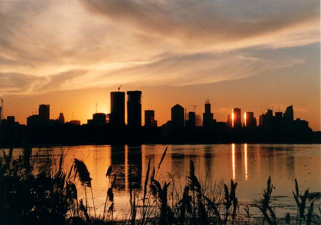 Atardecer en la Reserva Ecológica - Sunset at the Ecological Reservoir - Buenos Aires