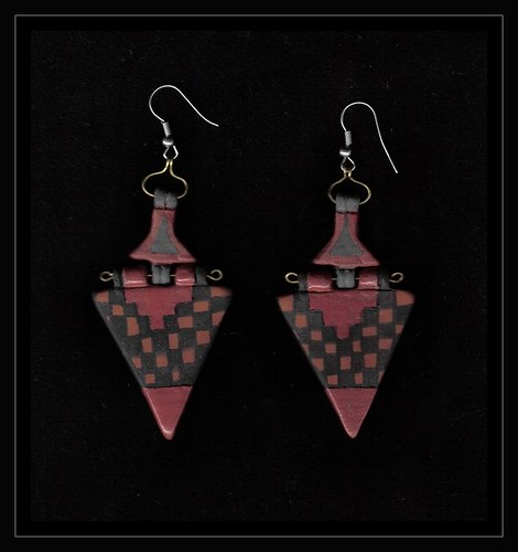 triangular earring
